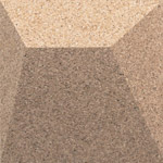 Ramp Pearl 3d cork wall tile