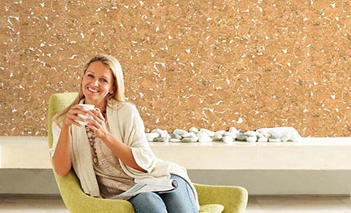 Decodalle Cork Wall Tiles Granorte