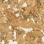 Country White cork wall tile