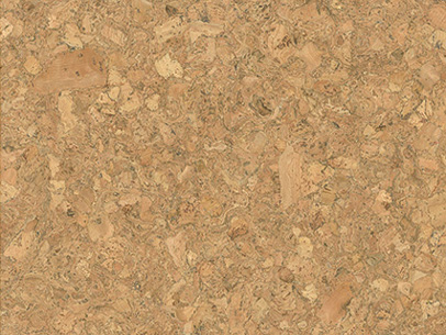 Rondo Cork Tile Natural